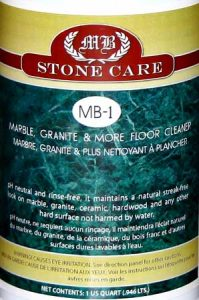 MB-1 Marble, Granite and More Floor Cleaner