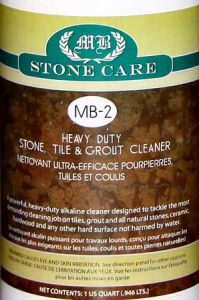 MB-2 Heavy Duty Stone, Tile and Grout Cleaner