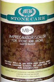 MB-4 Stone and More Impregnator Sealer