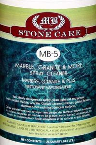 MB-5 Marble, Granite and More Spray Cleaner