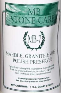 MB-7 Stone Polish Preserve