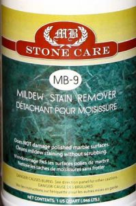 MB-9 Mildew Stain Remover